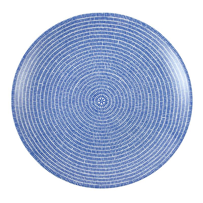 24h アベック プレート 26cm ブルー